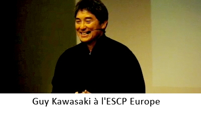 Guy Kawasaki à l'ESCP Europe