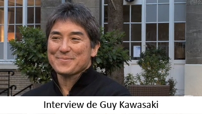 Interview de Guy Kawasaki, en marge de la conférence